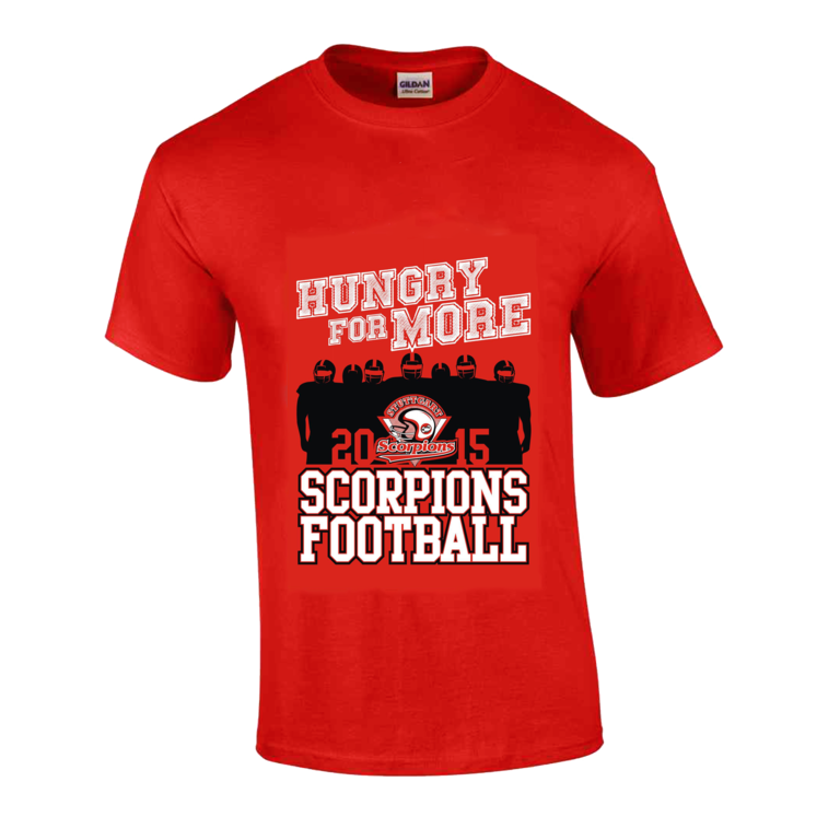 Retro Shirt 2015_Hungry for more