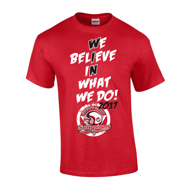Retro Shirt 2017_We believe in what we do